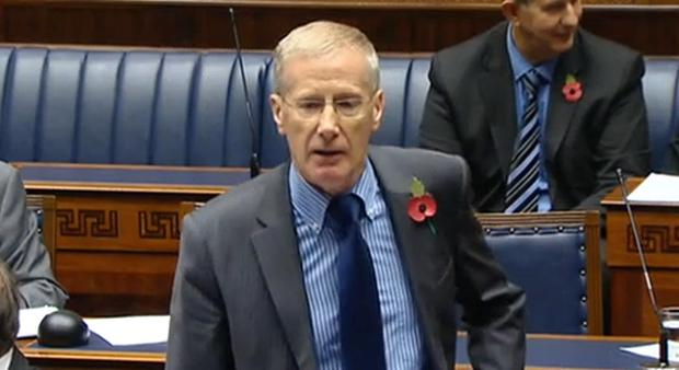 DUP's Gregory Campbell was criticised for 'ignorant' Irish language comments
