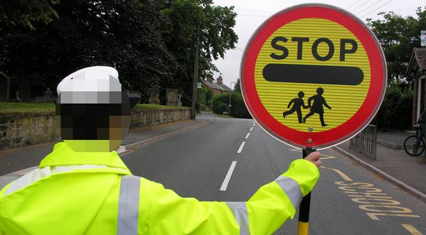 A lollipop man was one of three men charged with drugs offences.