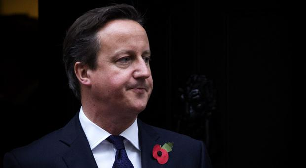 David Cameron chose not to be photographed in a 'this is what a feminist looks like' t-shirt