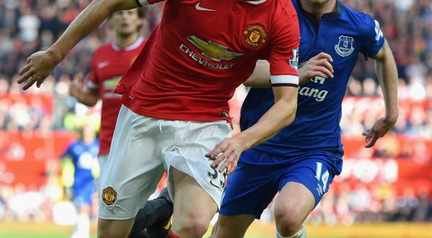 Rising star: Paddy McNair has impressed at Manchester United after taking advantage of their defensive injury crisis