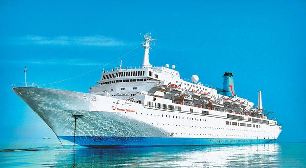 Plain sailing: Thomson holidays are bucking trends and making a healthy profit