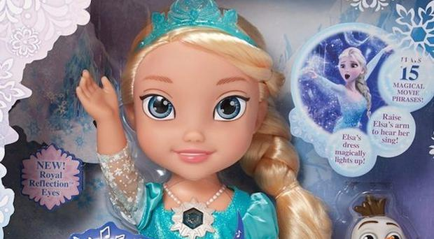 Top toys for christmas 2014 expect frozens elsa lego movie and disney frozen snow glow elsa from jakks pacific inc spiritdancerdesigns Gallery
