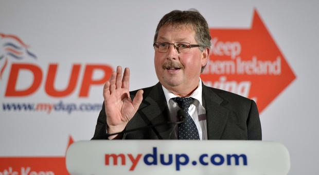 East Antrim MP Sammy Wilson ticks a lot of boxes as a potential leader of the party