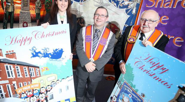 Orange Order unveil this year's Christmas cards