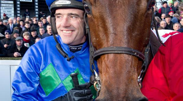 Pair of aces: Hurricane Fly and jockey Ruby Walsh