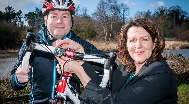 On your bike: Philip and Irene McAleese of See Sense