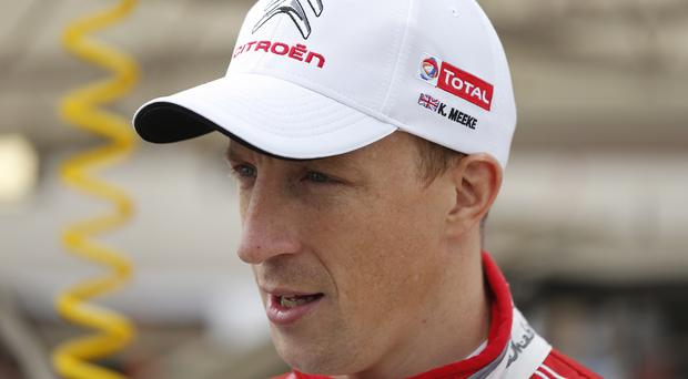 New deal: Kris Meeke proved his quality to impress Citroen