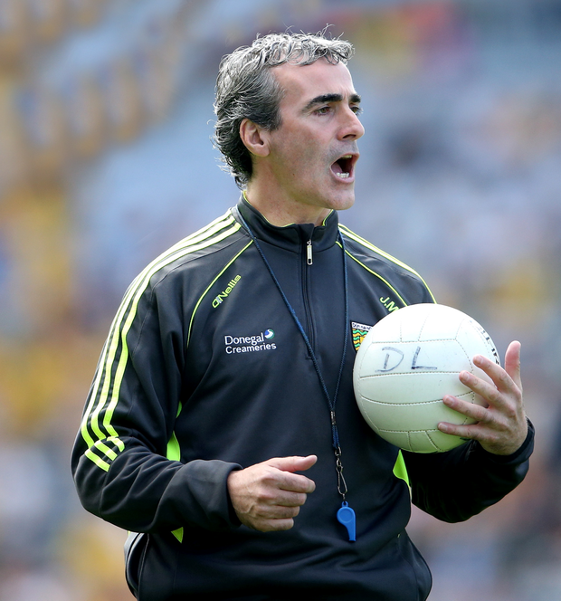 Former Donegal Gaelic football team manager Jim McGuinness