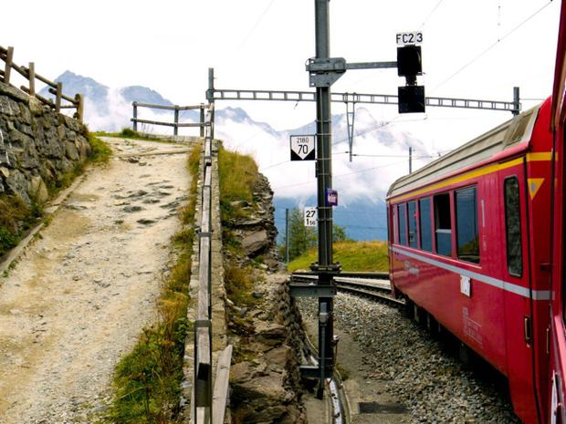 INCREDIBLE VIEWS: The Bernina Express