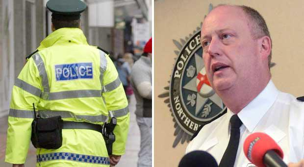 Chief Constable George Hamilton has already painted a dire financial situation for the PSNI
