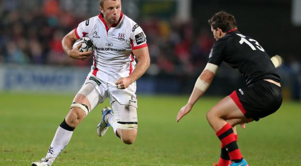 Ready to rumble:Ulster's Roger Wilson