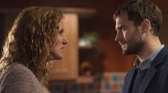 Bronagh Waugh and Jamie Dornan in The Fall