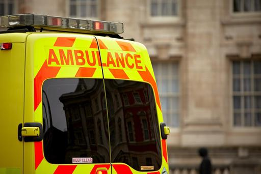 A paramedic who refused to answer a 999 call to help a woman believed to be pregnant because he was near the end of his shift has been suspended for 12 months