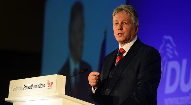 DUP leader Peter Robinson has told his party's annual conference
