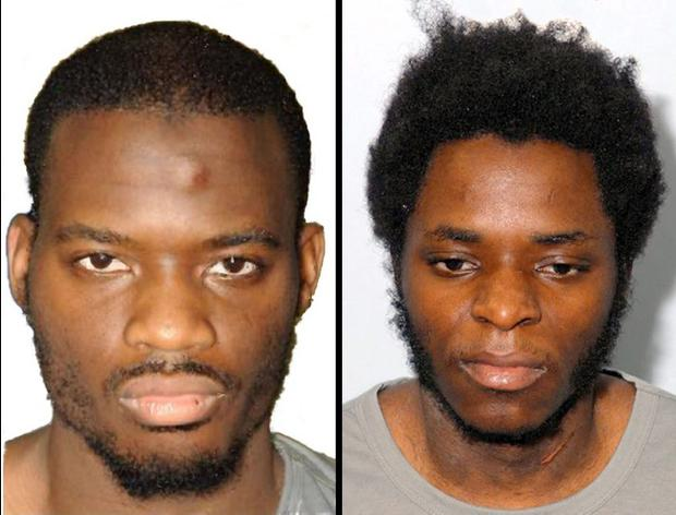 Lee Rigby's killers Michael Adebolajo (left) and Michael Adebowale