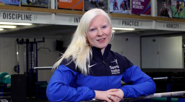 Golden girl: Kelly Gallagher is active even when she's relaxing