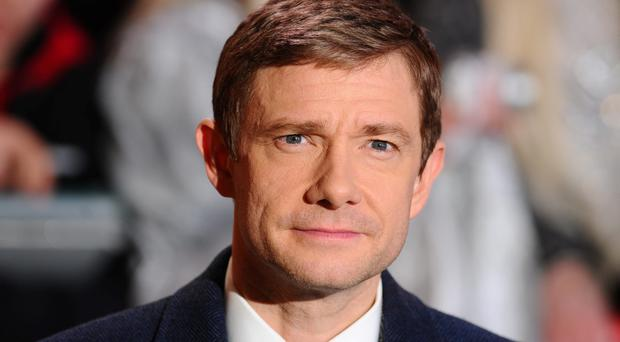 Martin Freeman attends the World Premiere of