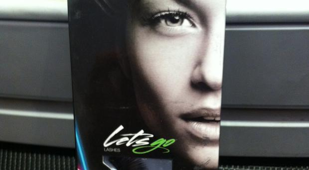 One of the products stolen from a beauty salon on the Ormeau Road
