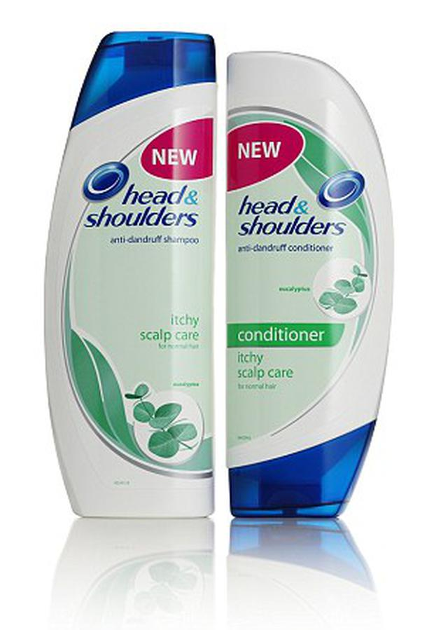 The fake Head and Shoulders shampoo looked just like the real thing