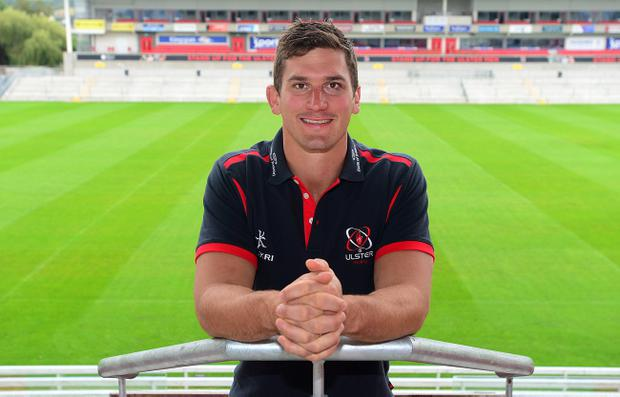 All smiles: Robbie Diack is hoping Ulster can get their European Champions Cup campaign back on track with a win over Scarlets