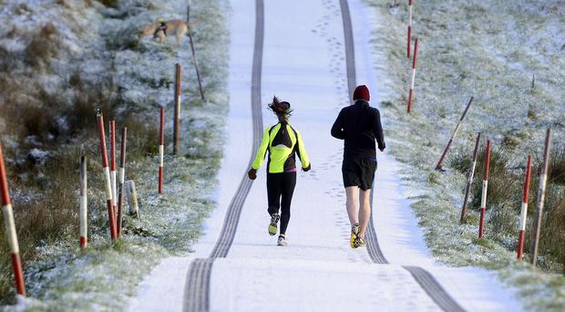 New year pursuit: get out and run
