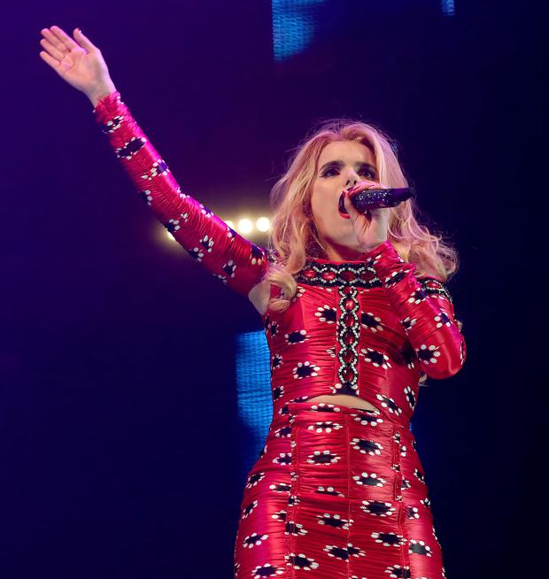 Paloma Faith at the 2014 Jingle Ball.