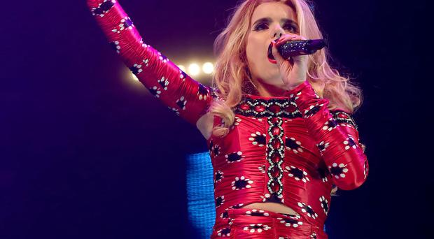 Paloma Faith at Cool FM's Jingle Ball 2014 Picture Credit : Kevin Scott / Belfast Telegraph