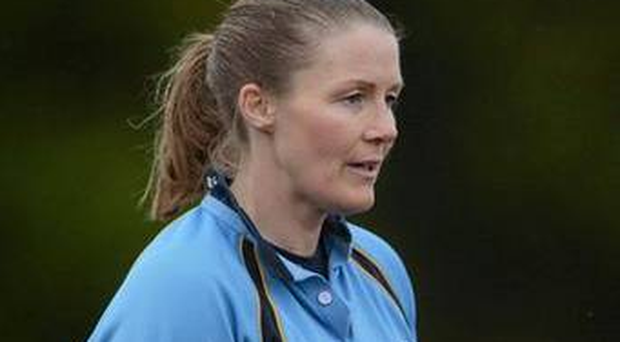 Helen O'Reilly Ireland's first top-level female rugby referee