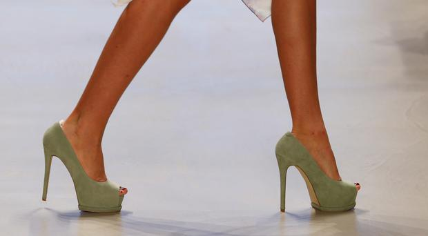 A man's willingness to help directly correlates with the height of the heel on a woman's shoe.