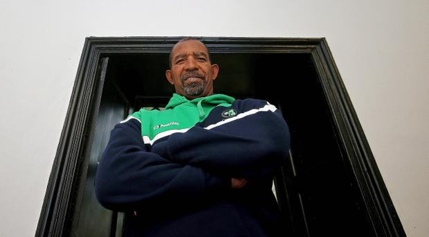 In charge: Ireland coach Phil Simmons will take six World Cup debutants Down Under next year