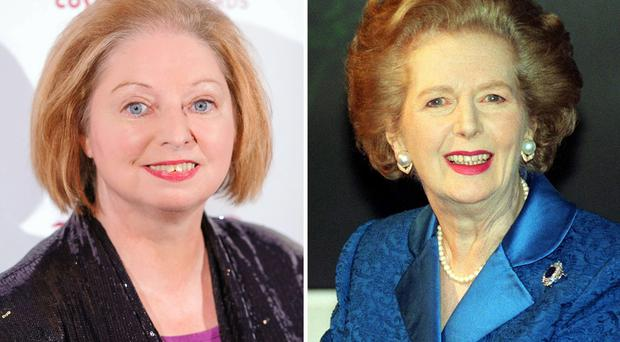 Hilary Mantel and Margaret Thatcher (left). The BBC has sparked criticism over plans to broadcast a