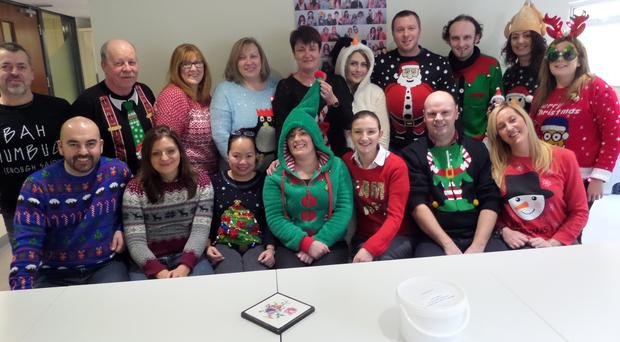 Kilwaughter Chemical Company Ltd a manufacturing company based in Larne embraced the wacky woollies on Friday and supported the Save the Children, National Christmas Jumper day.