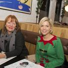 Little Wing Holywood Christmas 2014. Photographs by Carrie Davenport. Pictured Betty Beverland and Chloe Young.