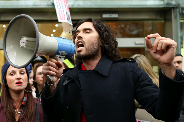 Tenants' association chief says 'everyone could see Russell Brand was doing a good thing'