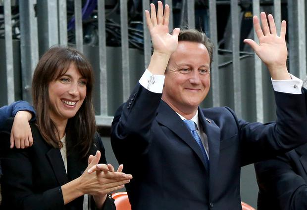 Prime Minister David Cameron threw Ibiza rave for his wife Samantha at Chequers