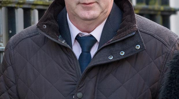 Colum Lewis-Canning who was sentenced at Londonderry Court on friday. Picture Martin McKeown. Inpresspics.com. 19.12.14