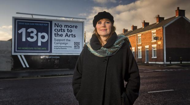 Comedian Nuala McKeever adds her support to the 13p campaign, led by the Arts Council of Northern Ireland, which calls for 'No More Cuts to the Arts' in the 2015-16 NI budget.