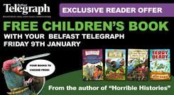 Choose from four Terry Deary books and capture your child's imagination