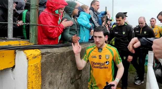 Belated return: Mark McHugh is back in the Donegal fold
