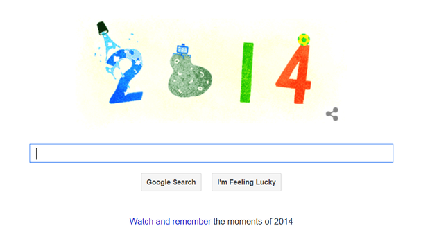Google doodle pays tribute to top trends of 2014