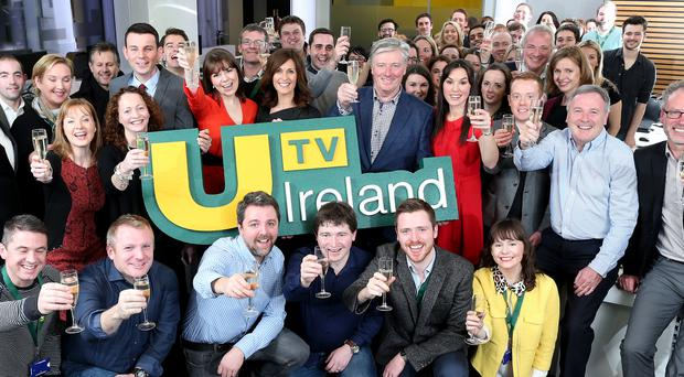 UTV Ireland took to the airwaves