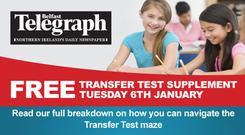 Free Transfer Test Supplement with your Belfast Telegraph
