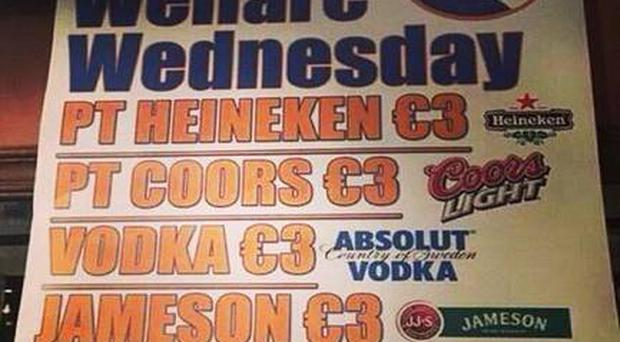 The 'Welfare Wednesday' promotion