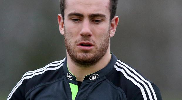 On his way: Munster's JJ Hanrahan is off to join Northampton Saints