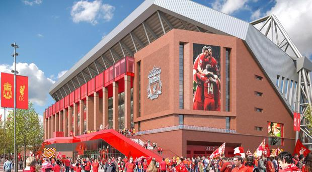 How Liverpool's new Anfield stand will look