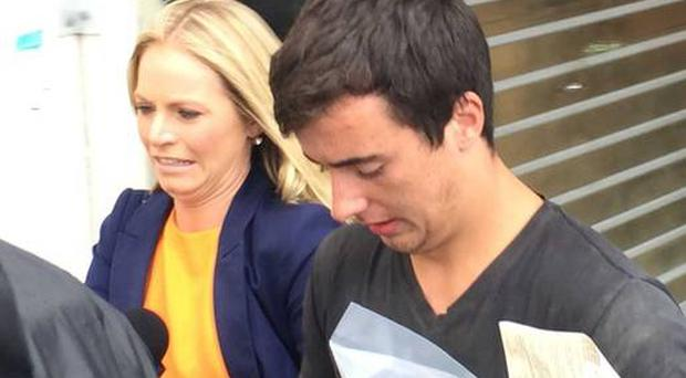 Hugh McMahon (18) was fined the equivalent of £1,400 for getting stuck in a Sydney nightclub air shaft while trying to sneak back in again