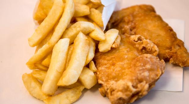 Nation's favourite: a fish supper from Bridies takeaway in Londonderry
