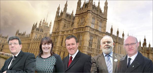 Will Sinn Fein's five MPs take up their seats in the House of Commons?