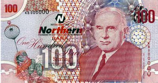 Inventor of the first ejection: Sir James Martin. Martin's contribution to engineering was commemorated by the Northern Bank on its £100 notes
