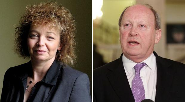 Carál Ní Chuilín told Stormont the Irish language belonged to everyone, but Jim Allister said the act was